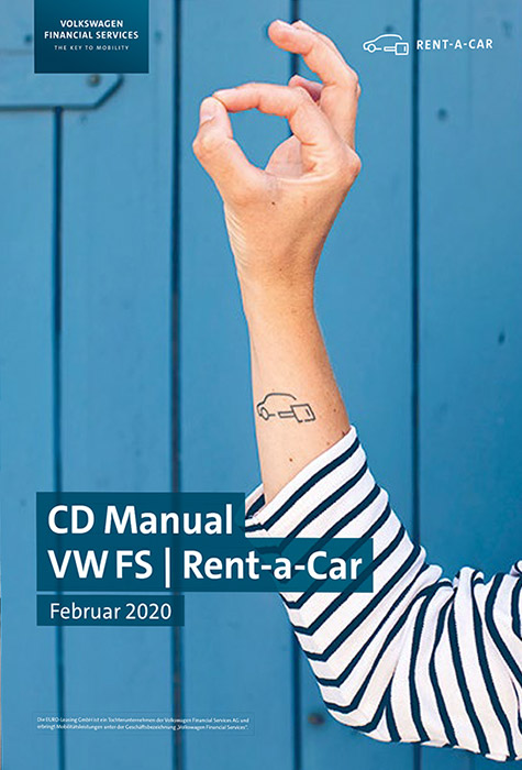 VW FS Rent-a-Car Styleguide