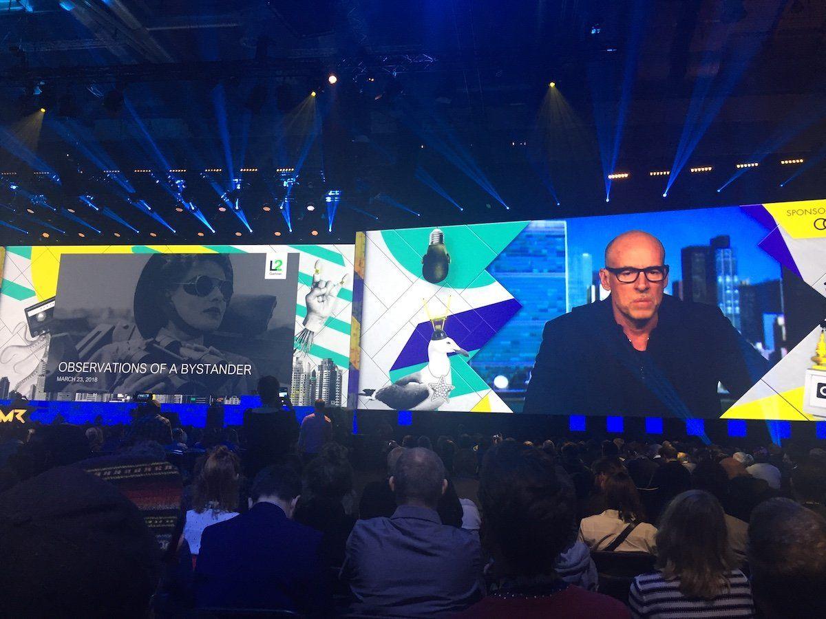 Scott Galloway bei den Online Marketing Rockstars 2018