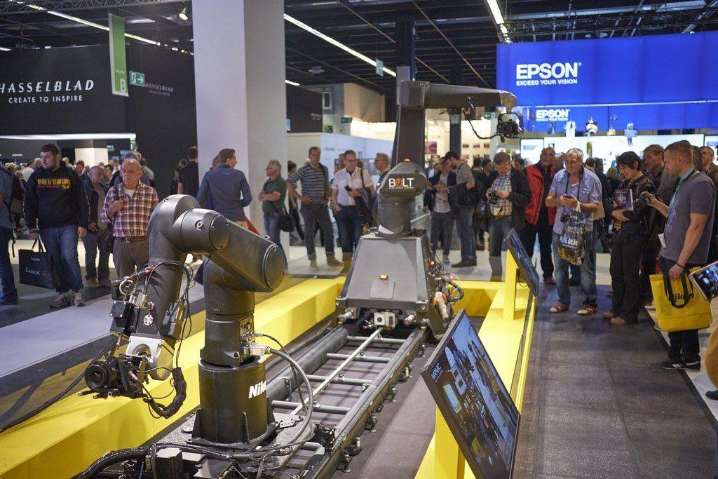 Photokina 2018: Roboter-Kamera