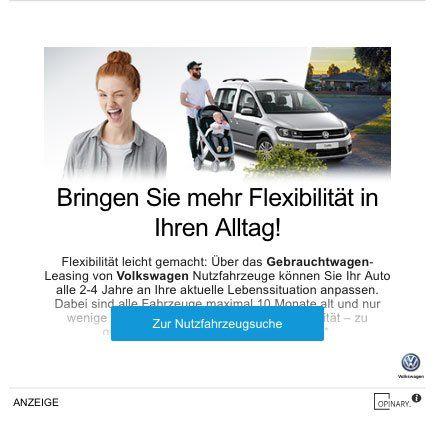 Screenshot: Opinary-Verweis zur Nutzfahrzeugsuche