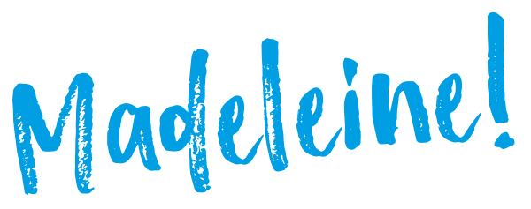 Madeleine - Schriftzug