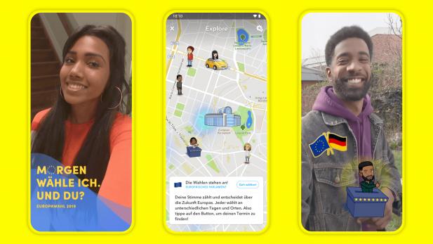 Snapchat: Kampagne zur Europawahl