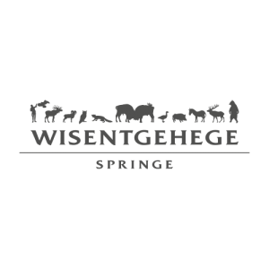 Logo s/w Wisentgehege Springe