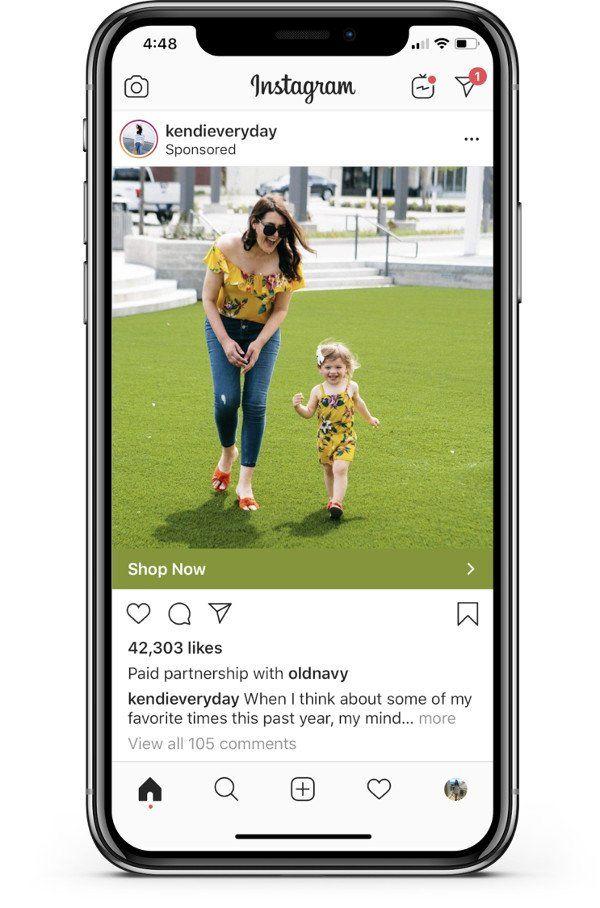 Instagram: Branded Content Ads
