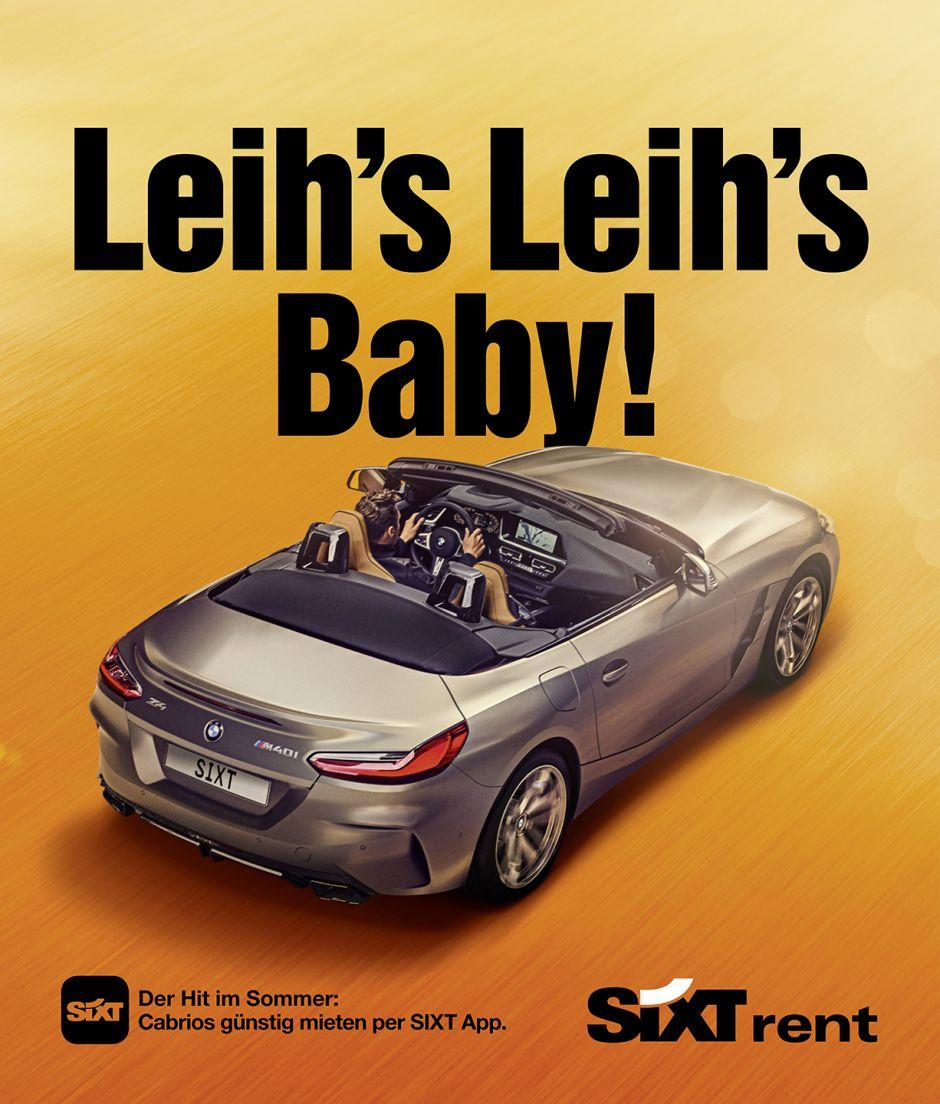 Sixt: Cabrio-Kampagne