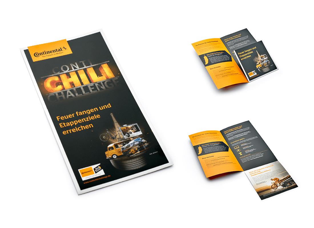 ContiChiliChallenge Info-Prospekt