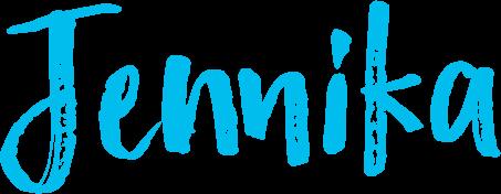 Jennika - Schriftzug