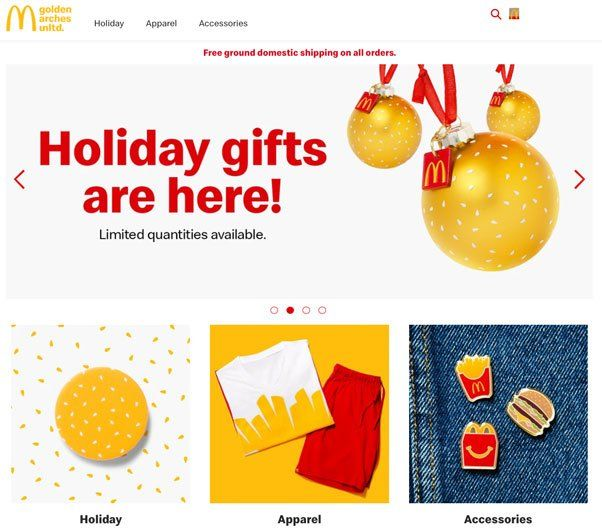 Vorschau McDonald's Fanshop - www.goldenarchesunlimited.com