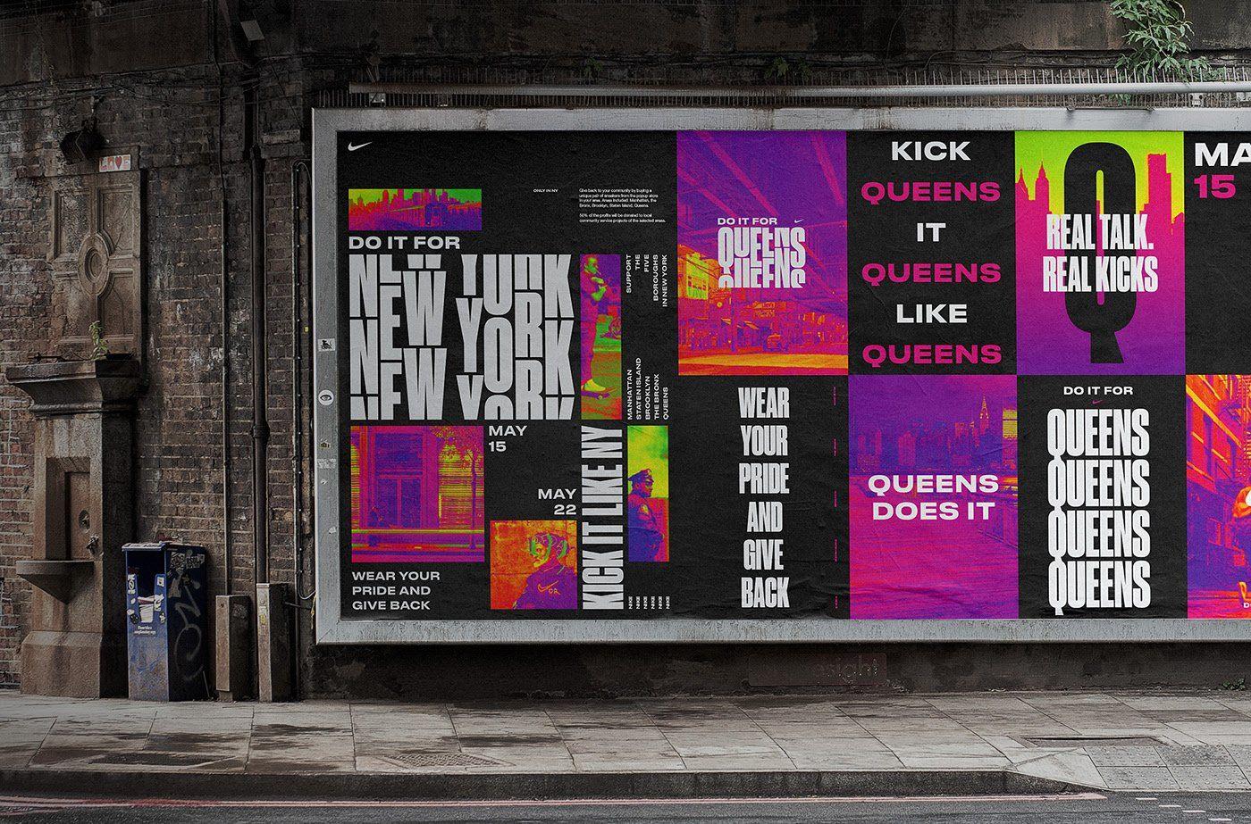 Design Trends 2020 - 05: Schriften in Bold am Beispiel von Nike, Sylvan Hildebrand