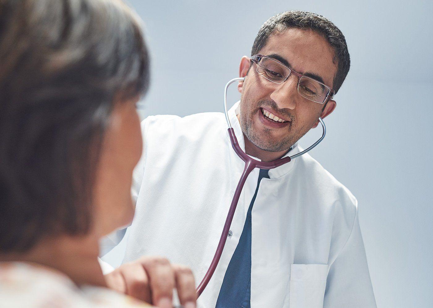 Abhören Arzt