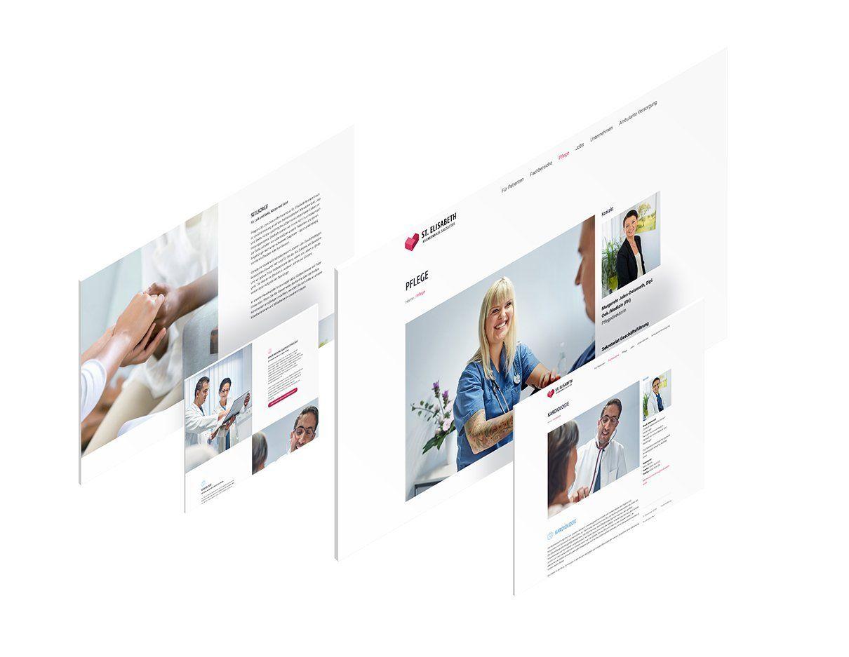 Webseitenlayout, UI-Design