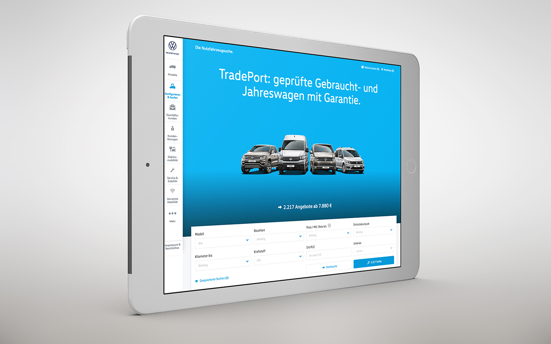 VGSG TradePort: Markenpositionierung - Das neue Motiv für die Website