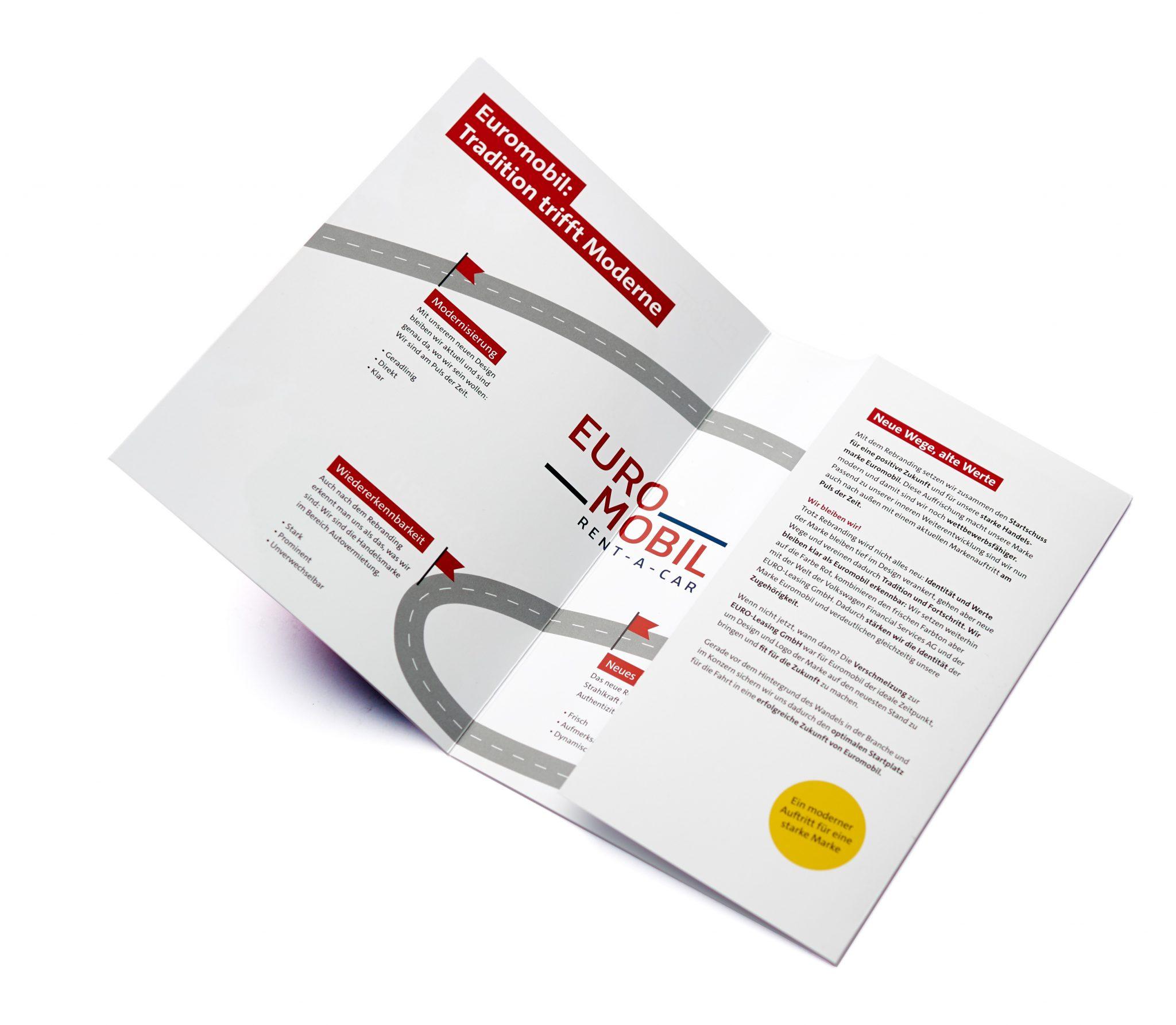 Euromobil Relaunch Markenhandbuch