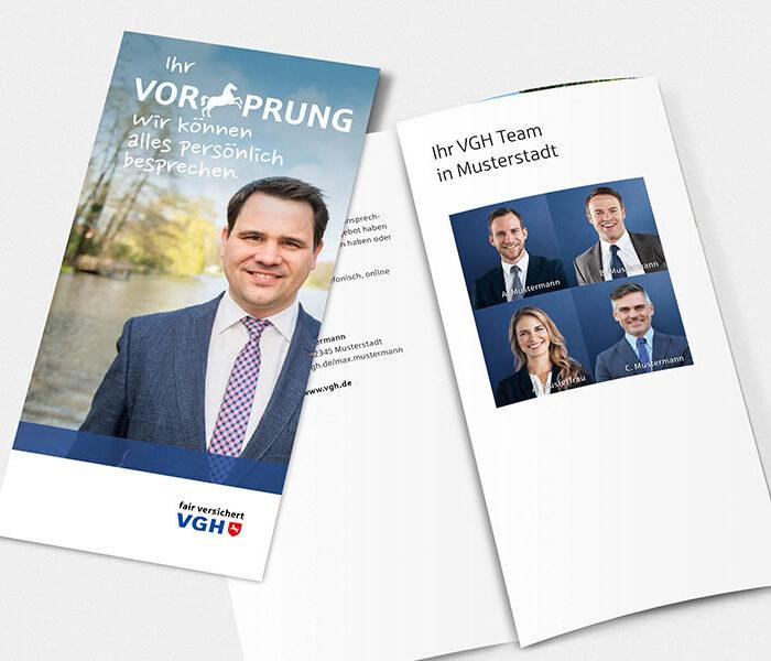 VGH Handelsmarketing-Maßnahme Broschüre als VGH Lead-Agentur | Windrich & Sörgel