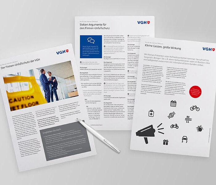 VGH Handelsmarketing-Maßnahme Print-Maßnahme als VGH Lead-Agentur | Windrich & Sörgel