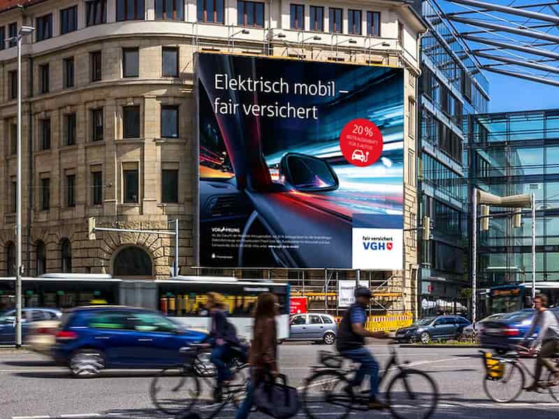 VGH KFZ Kampagne, Außendarstellung | Windrich & Sörgel