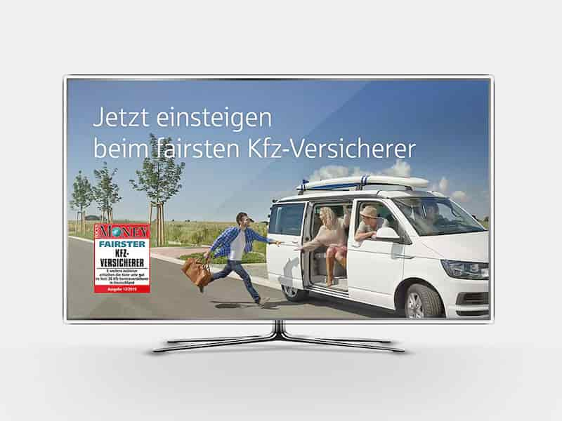 "VGH Kampagne ""Fairster Kfz-Versicherer"" | Windrich & Sörgel"