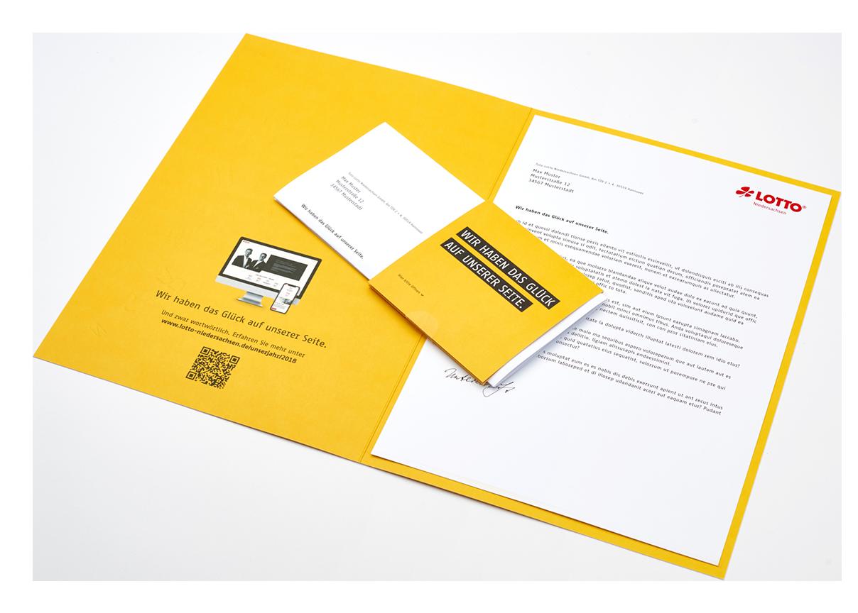 Toto Lotto Niedersachen Geschäftsbericht 2018 Mailing
