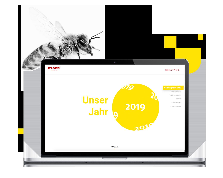 Toto Lotto Niedersachen Geschäftsbericht digital 2019