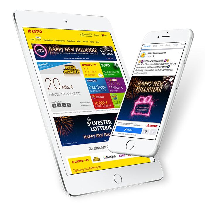 Lotto Niedersachsen Silversterlotterie Onlineformate