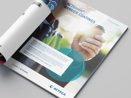 ACTEGA – Mockup Printanzeige für ACTGreen   Windrich & Sörgel