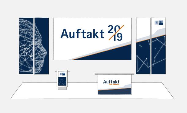 IHK Hannover – Standaufbau für Auftaktveranstaltung | Windrich & Sörgel