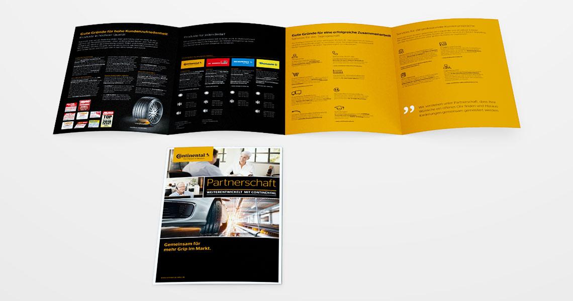 Continental Reifen Deutschland GmbH, Broschüre